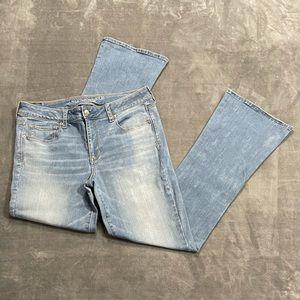 American Eagle Skinny Kick Bootcut Jeans!